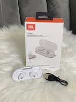 Used JBL Earbuds white with charging case  in Dubai, UAE