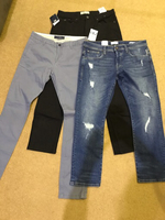 Used Zara, pullnbear, edc pants fits size 34 in Dubai, UAE