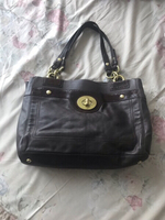 Used Vintage Coach leather bag in Dubai, UAE