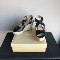 Used Michael Kors wedge sandals size 40 new in Dubai, UAE