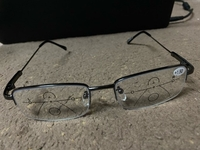 Used Far And Near Dual Use Reading glasses  in Dubai, UAE