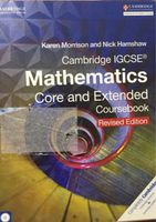 Used CAMBRIDGE IGCSE MATHEMATICS COURSE BOOK in Dubai, UAE