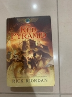 Used Red Pyramid by Rick Riordan in Dubai, UAE