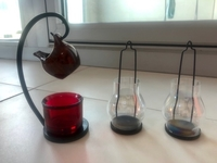 Used Candle holders and oil burner in Dubai, UAE
