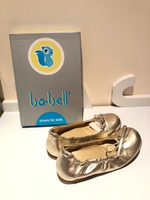 Used Golden ballerinas size EU31 in Dubai, UAE