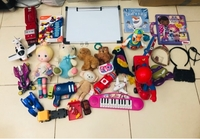 Used ASSORTED TOYS, BOARD& GIRLS ACCESSORIES  in Dubai, UAE
