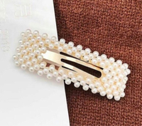 Used Square Pearl Hairclip  in Dubai, UAE