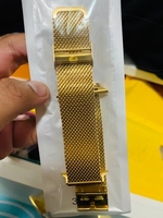 Used 38mm to 40mm apple watch band gold in Dubai, UAE