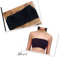 Used Bra Tube black / Small ♏️ in Dubai, UAE