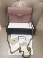 Used GUCCI MARMONT CHAIN BAG.. NEW in Dubai, UAE