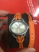 Used women fashion orange watch in Dubai, UAE