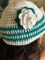Used Handmade crochet Beanie Child 4-6 in Dubai, UAE