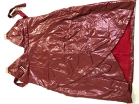 Used leather dress Lsize Brand New in Dubai, UAE