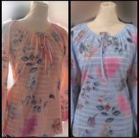 Blue and Pink Blouses( L )
