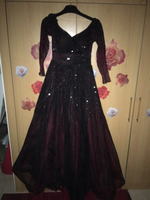 Used Red evening gown dress by fouad sarkis in Dubai, UAE