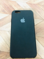 Used IPHONE 6/6s SILICON black phone case  in Dubai, UAE