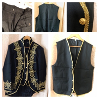 Used Embroidered men's suit size XL in Dubai, UAE