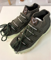 Used Running Shoes Army Green/ 40 size in Dubai, UAE