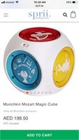 Used Munchkin Mozart Magic Cube in Dubai, UAE