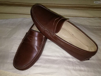 Used Austin Reed Dark Brown Loafers in Dubai, UAE