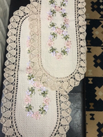 Used Embroidered small tablecloth set of 2  in Dubai, UAE
