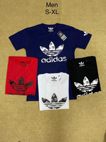 Used T-shirt 4pcs Large Adidas  in Dubai, UAE