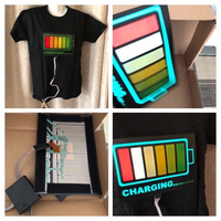 Used LED T-Shirt size M in Dubai, UAE