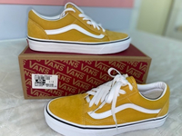Used Yellow Vans shoes  in Dubai, UAE