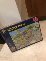 Used 1000 piece jigsaw puzzle...  in Dubai, UAE