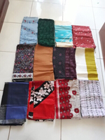 3 meters cotton printed fabric