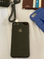 Used IPHONE 7 JET BLACK 128GB , FOR 700 LAST  in Dubai, UAE
