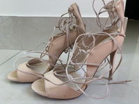 Used Charles & Keith heels in beige  in Dubai, UAE