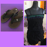 Used Jumpsuit XXL/ Slipper 40 in Dubai, UAE