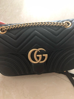 Used Gucci Marmont Flap Bag - real leather in Dubai, UAE