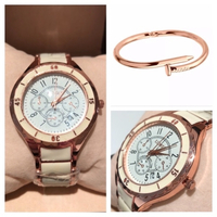 Used Watch cheftr3856+Nail bangle m0416 in Dubai, UAE