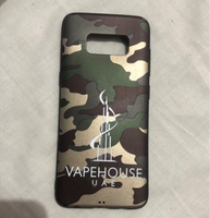 Used 2 pcs Samsung s8 cover Brand new army in Dubai, UAE