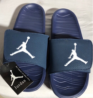 Used New Jordan Blue Slides Slipper in Dubai, UAE