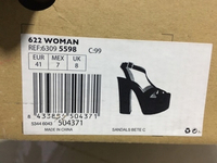 Used Mango high heeled Black 41  in Dubai, UAE