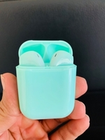 Used Wireless airpods with charging case gren in Dubai, UAE