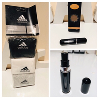 Used Adidas socks 43-46 & refillable perfume  in Dubai, UAE