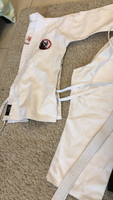 Used Karate Uniform with logo in Dubai, UAE
