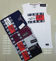 Used Tommy sleeveless 5pcs Large in Dubai, UAE