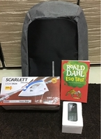 Used Bag, book, iron, SAMSUNG MODEL PHONE  in Dubai, UAE
