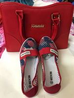 Used lady bag with ldy shoe new offer in Dubai, UAE