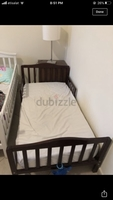 Used Kid bed home center with clean mattress  in Dubai, UAE