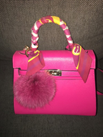 Used Hermès pink handbag  in Dubai, UAE