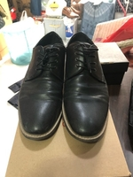 Used leather black shoes in Dubai, UAE