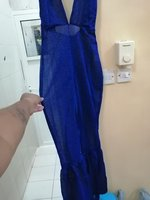 Used Party wear blue dress in Dubai, UAE