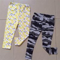 Cute Leggings 2 Pcs Size 6years. Brand New.