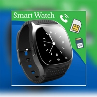 Used New black smart watch attractive design in Dubai, UAE
